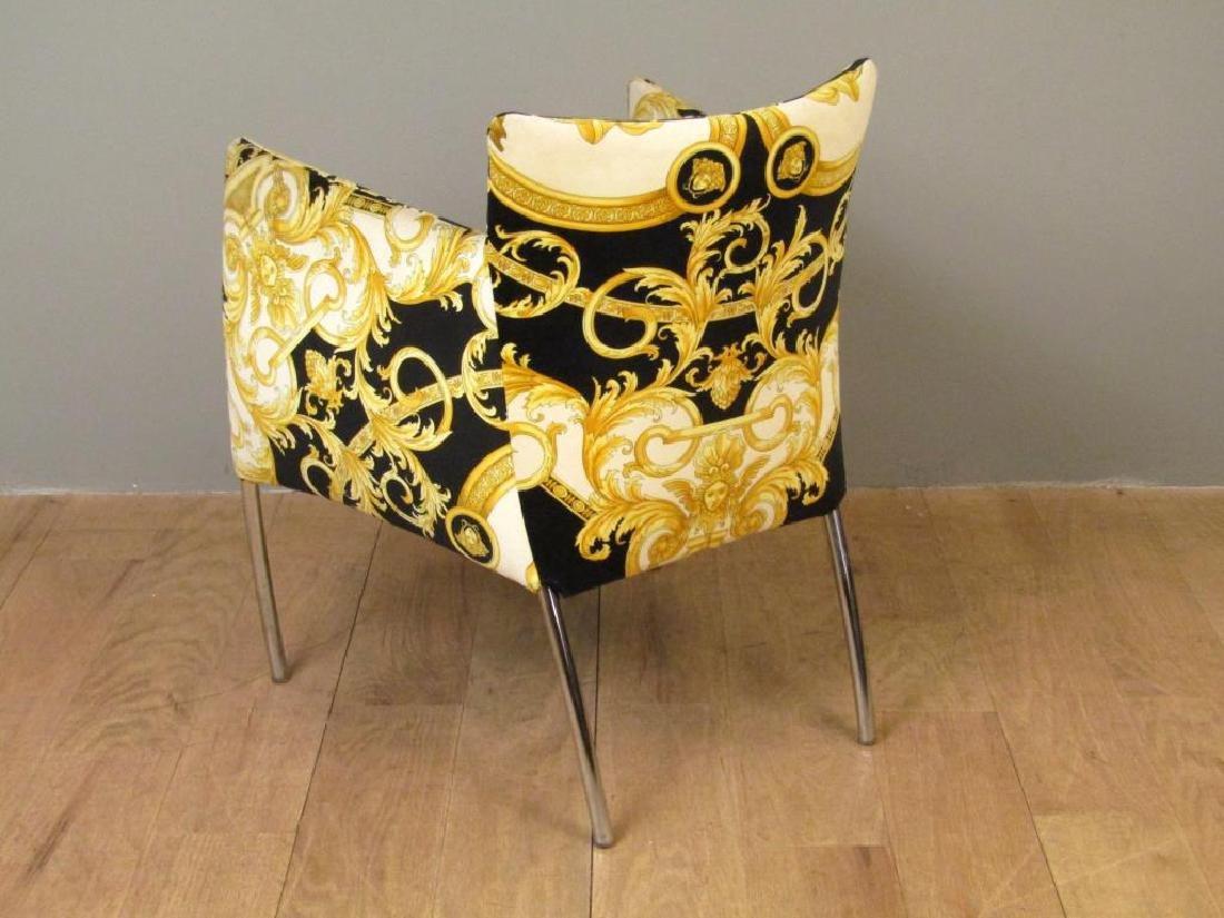 Versace Print Arm Chair - 3