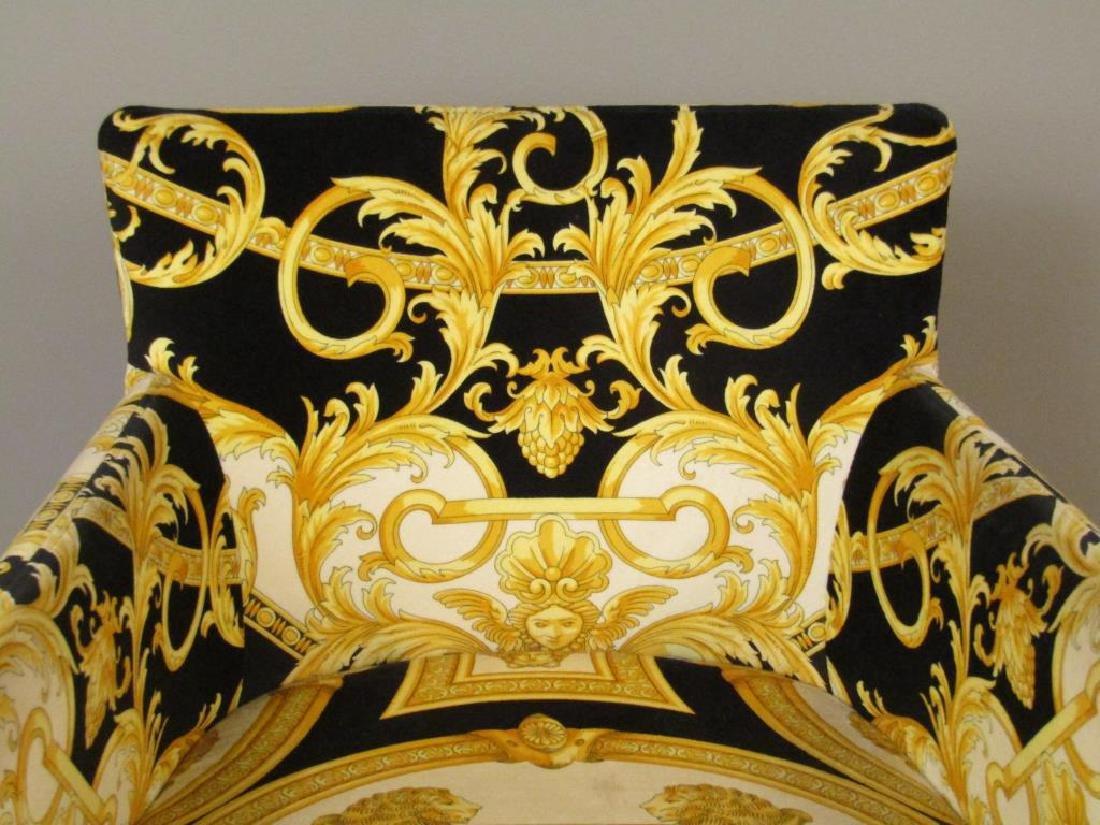 Versace Print Arm Chair - 4