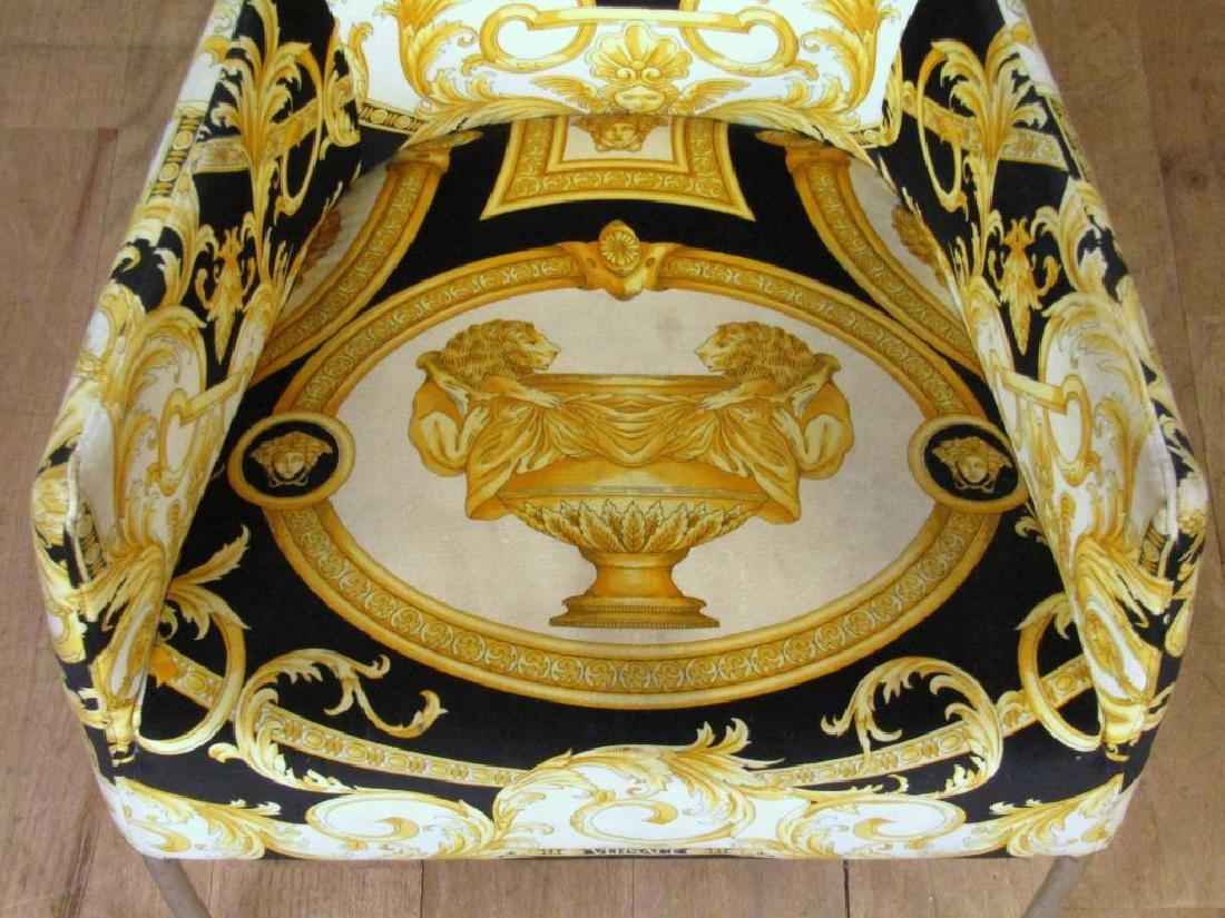 Versace Print Arm Chair - 5
