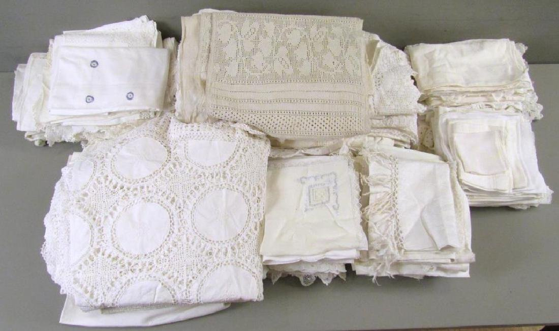 Large Lot of Assorted Linens