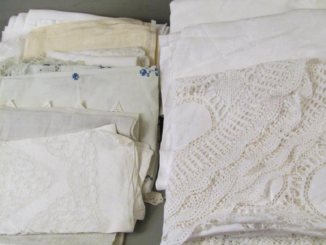 Large Lot of Assorted Linens - 2