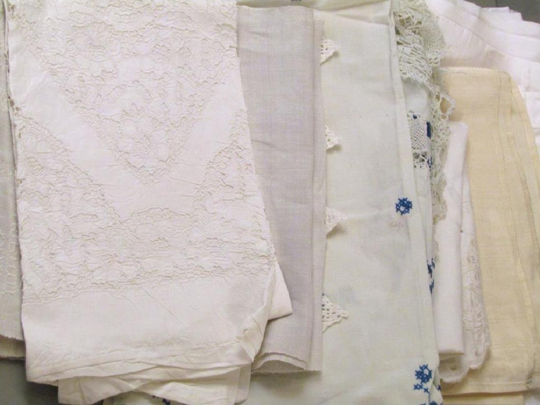 Large Lot of Assorted Linens - 4