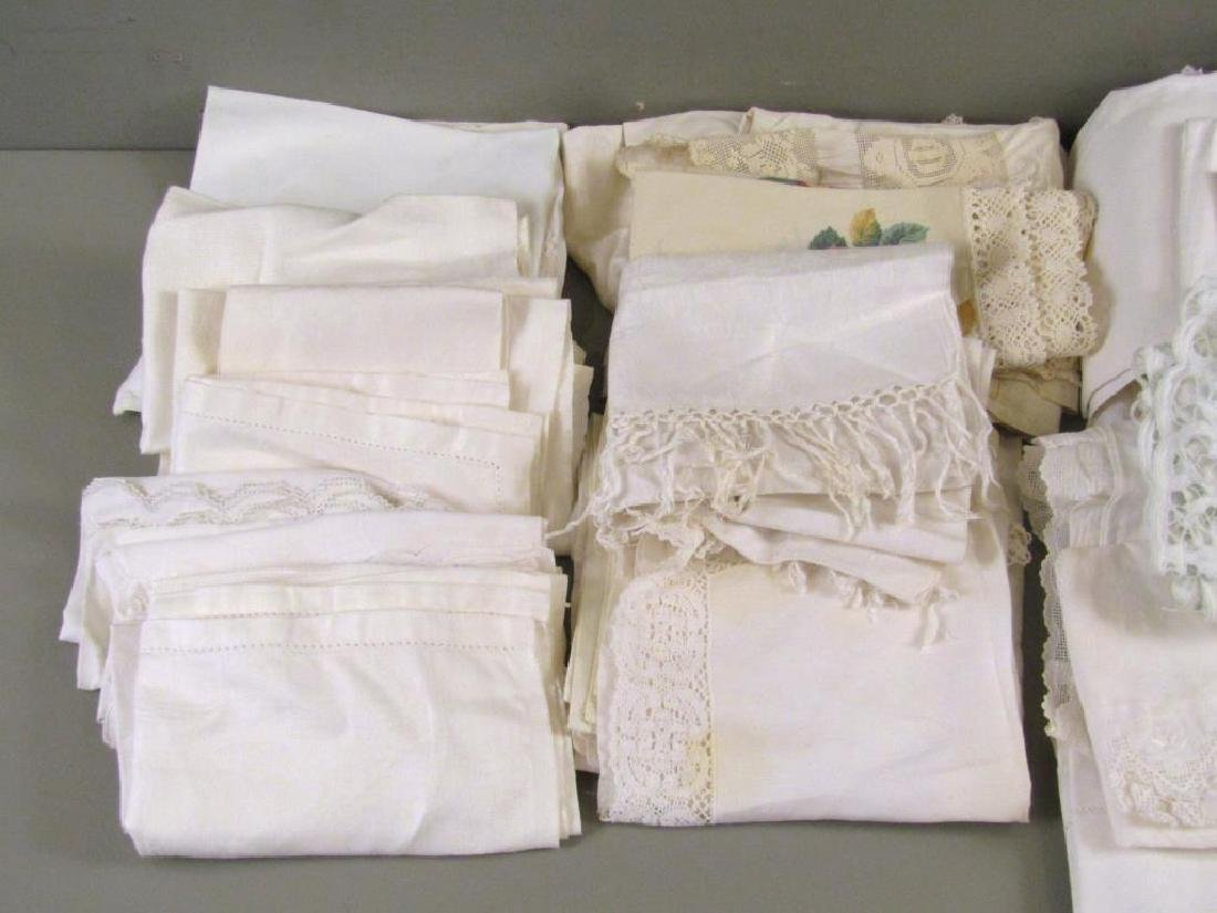Large Lot of Assorted Linens - 7