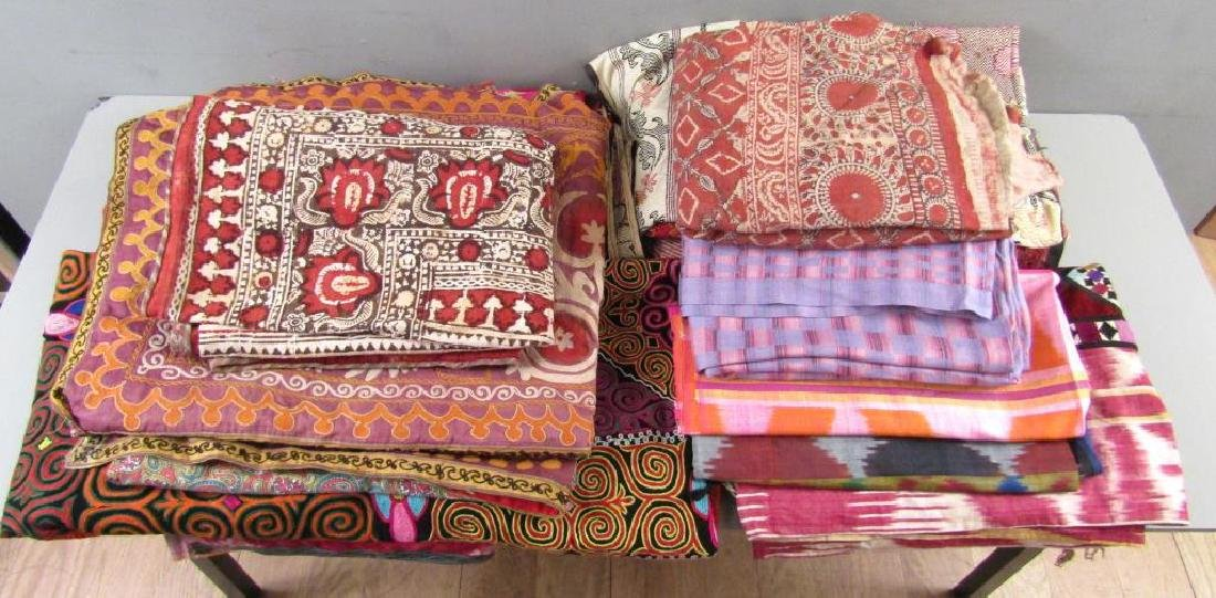 Assorted Russian and Tibetan Textiles - 3