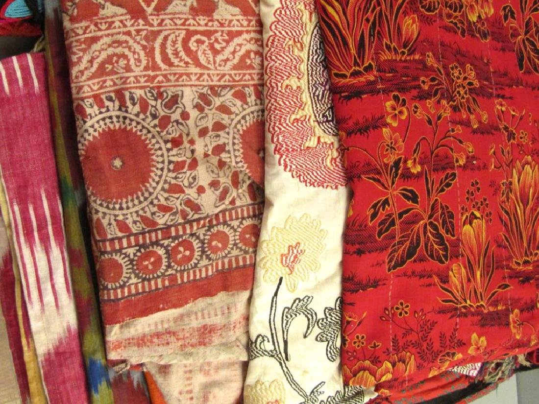 Assorted Russian and Tibetan Textiles - 6