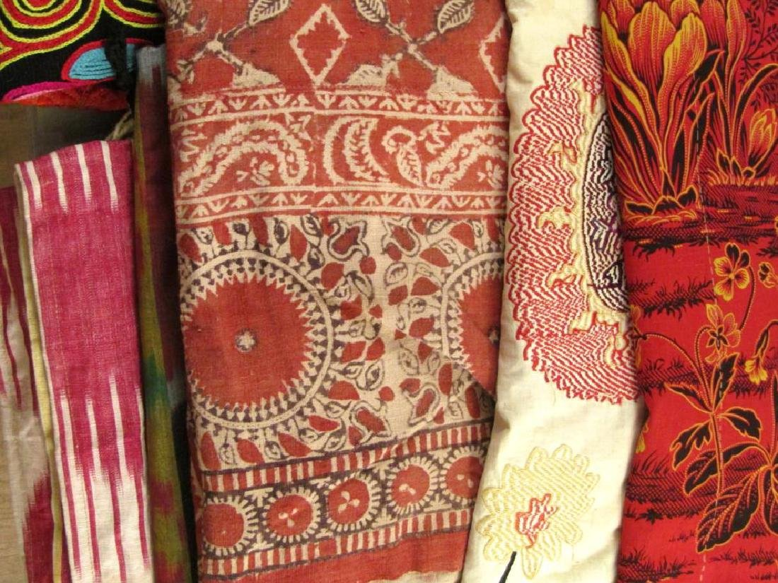 Assorted Russian and Tibetan Textiles - 7