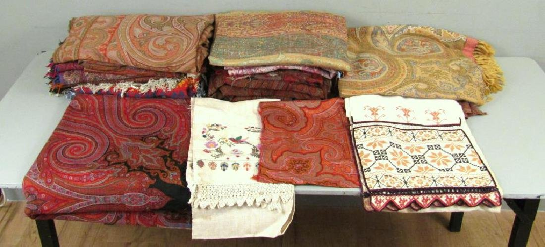 Assorted Russian and Uzbek Textiles