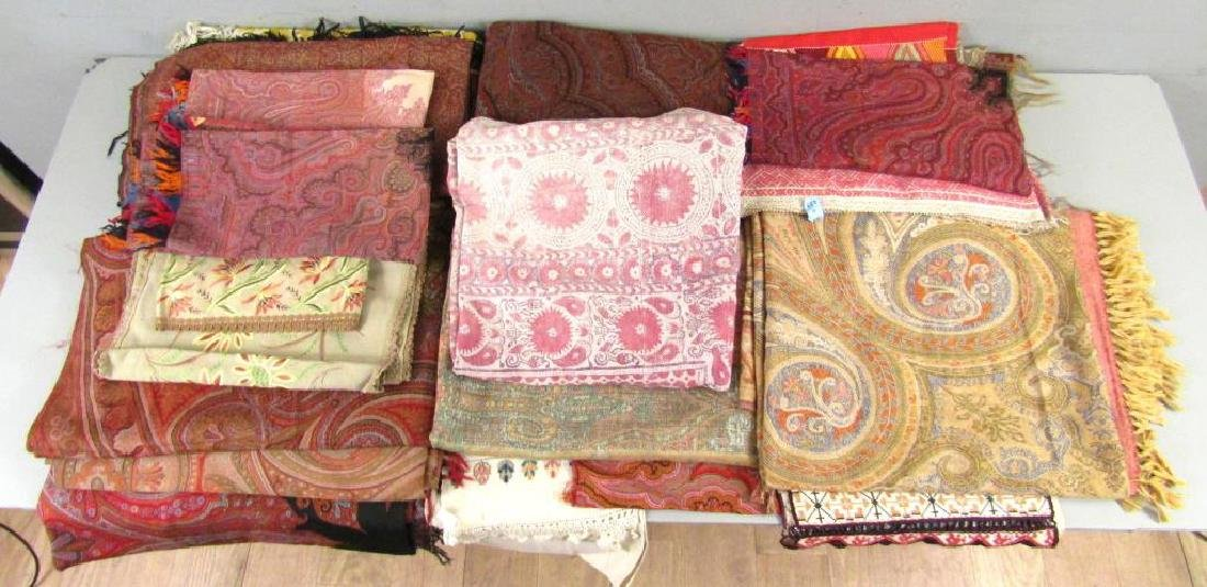 Assorted Russian and Uzbek Textiles - 2