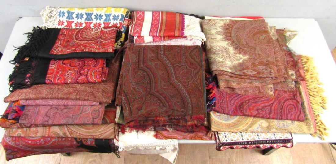 Assorted Russian and Uzbek Textiles - 3