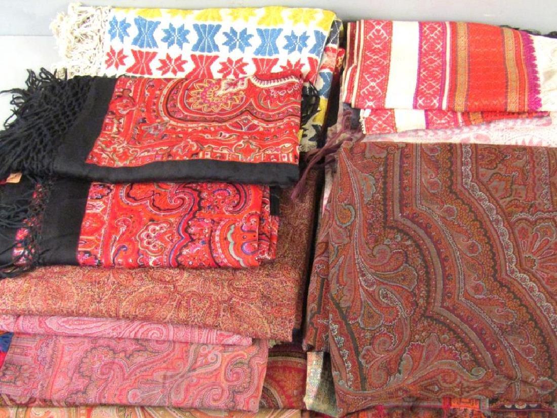 Assorted Russian and Uzbek Textiles - 4
