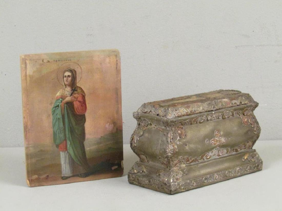 2 Russian Religious Items