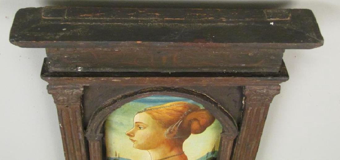 Antique Italian Portrait of a Woman - 2