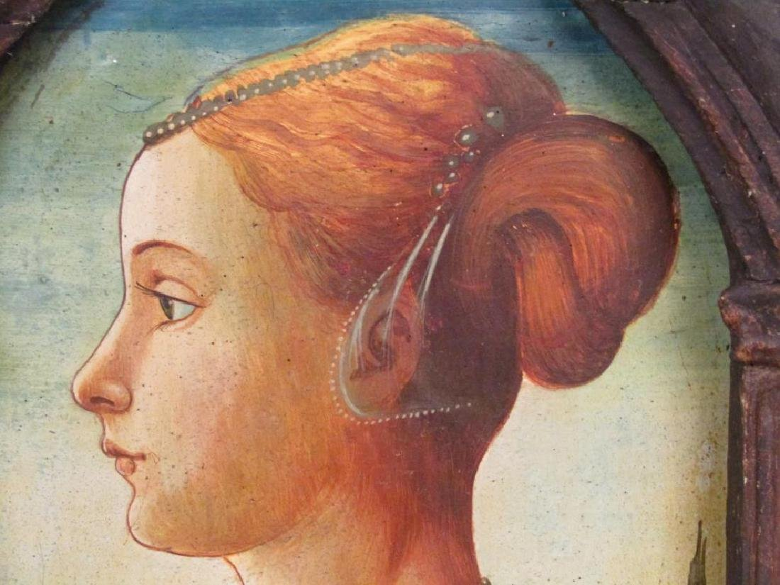 Antique Italian Portrait of a Woman - 3