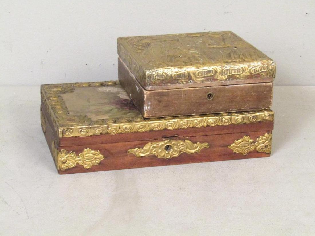 Two Pre-Revolutionary Russian Boxes