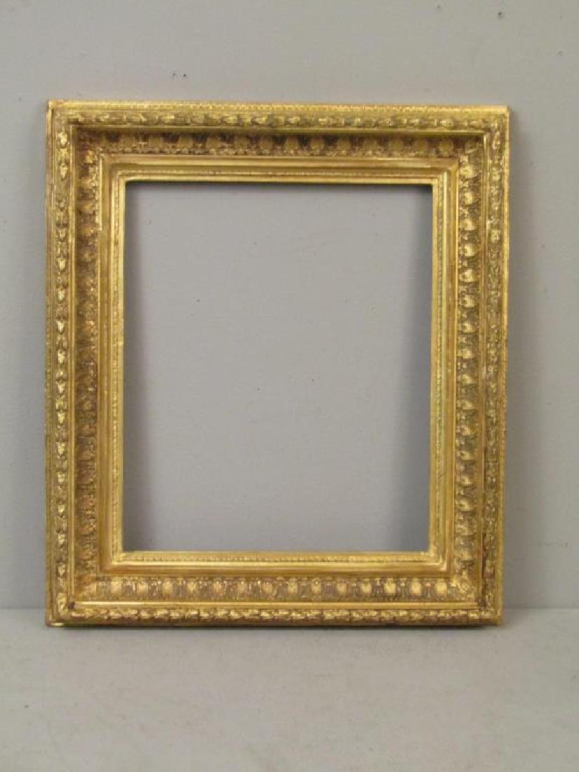 Carved Gilt Gesso Frame