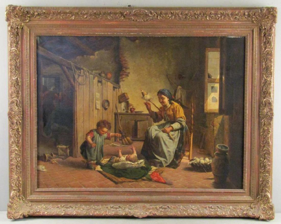 Antonio Sasso & Son - Oil on Canvas - 2