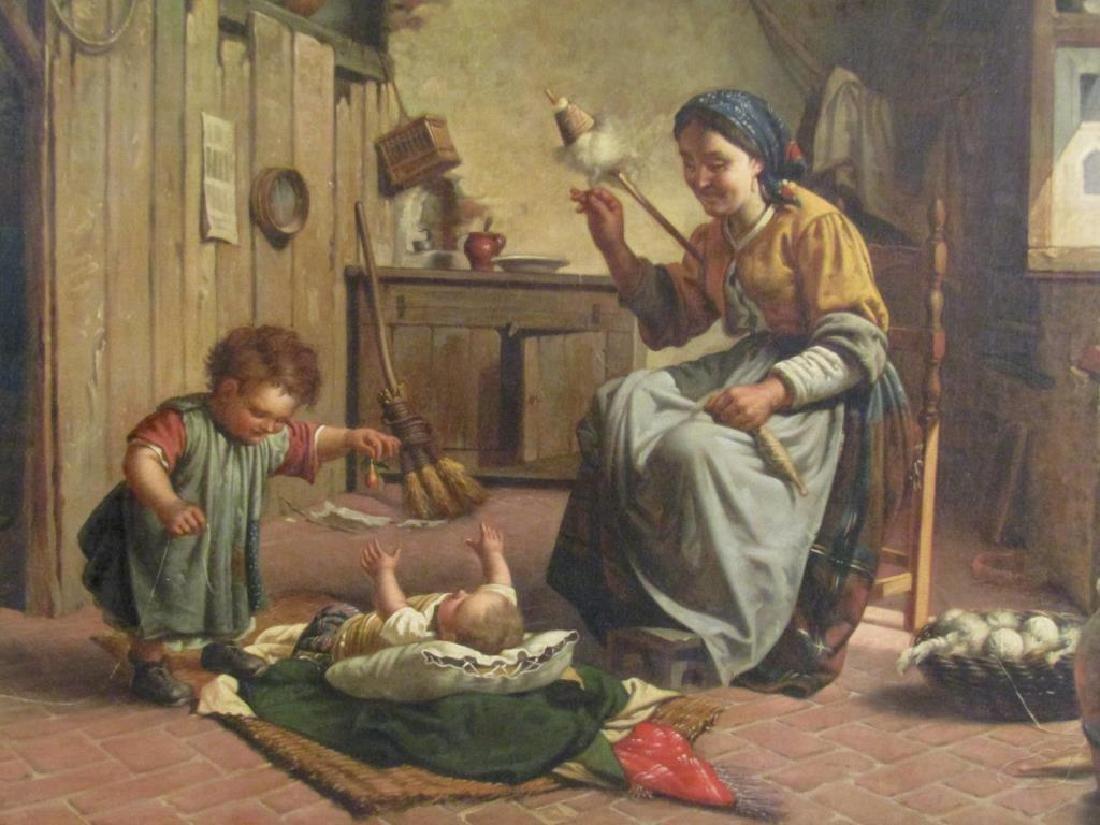 Antonio Sasso & Son - Oil on Canvas - 3
