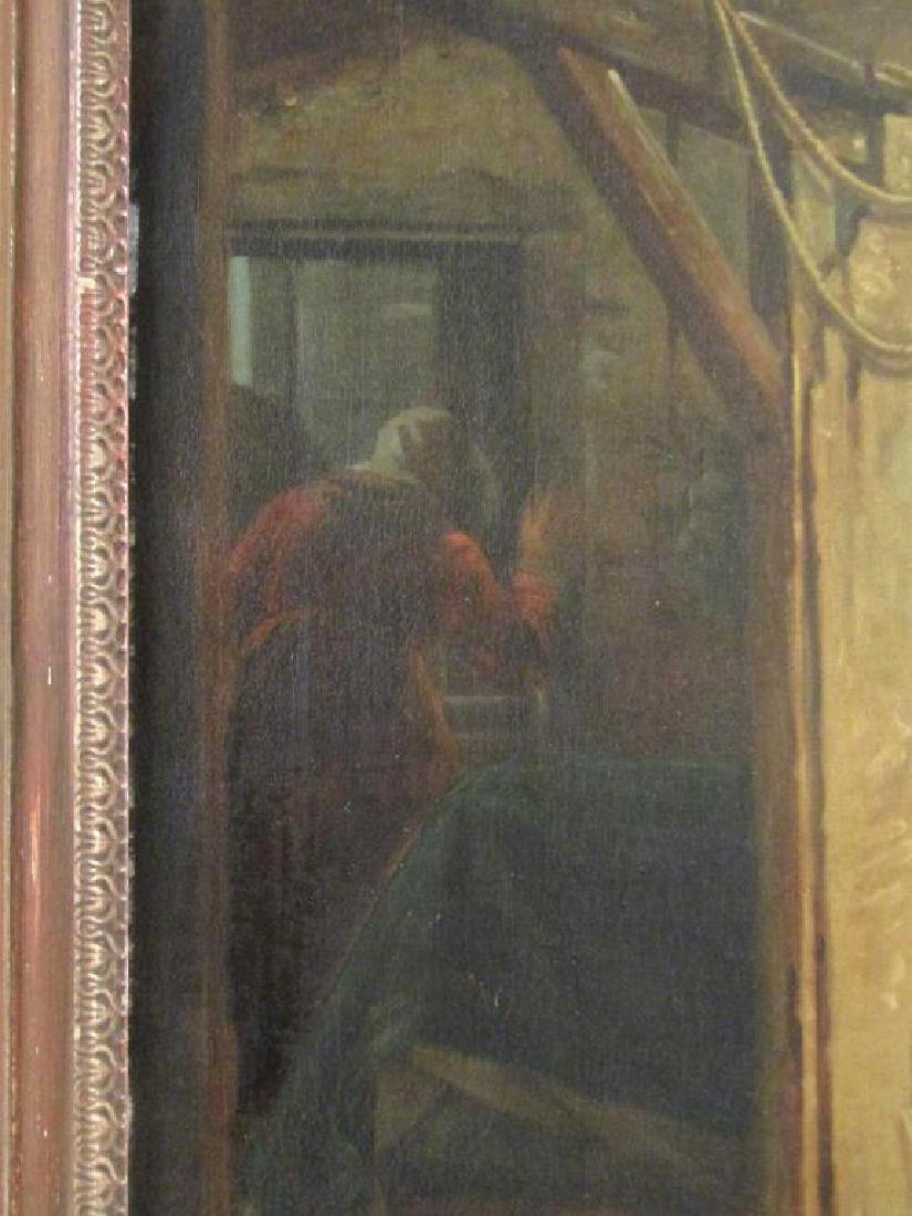 Antonio Sasso & Son - Oil on Canvas - 5