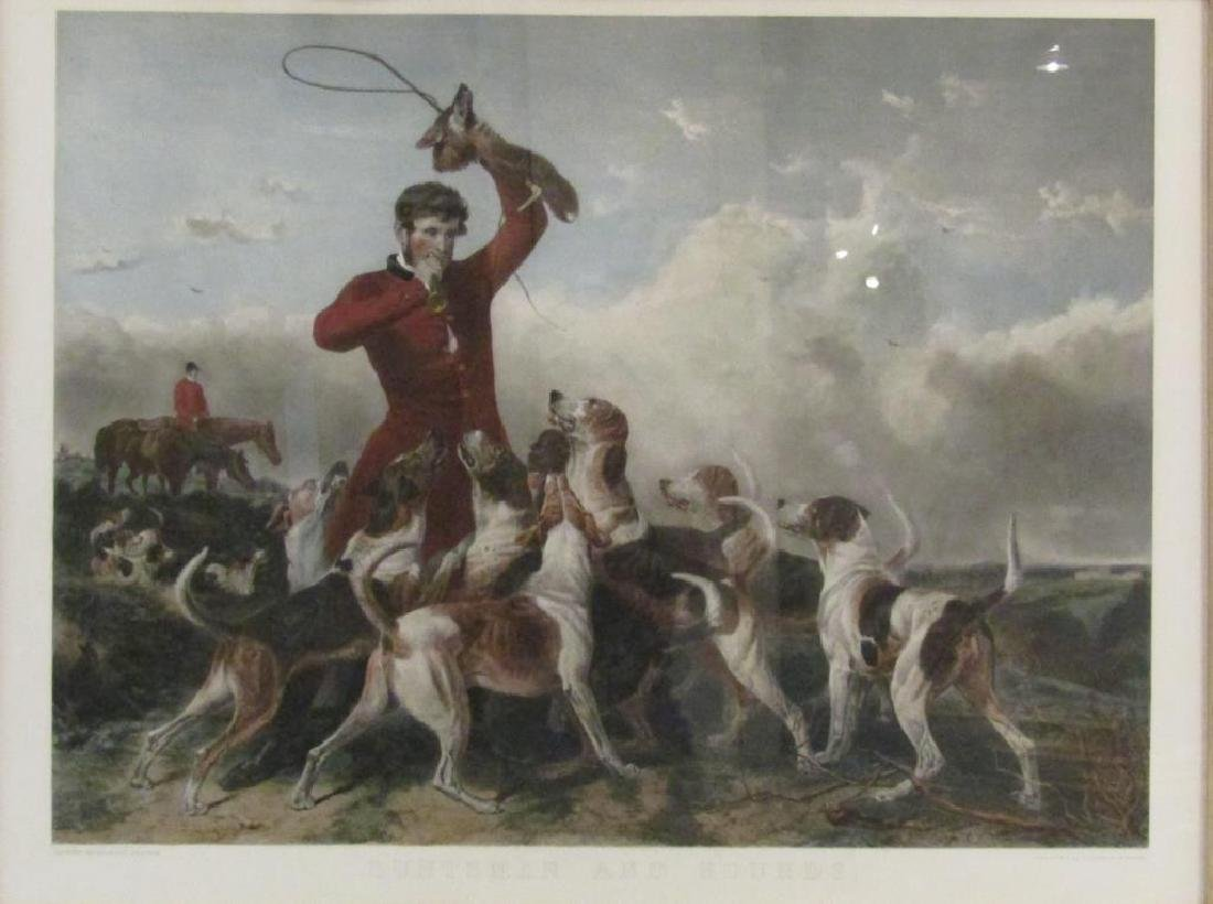 After Richard Ansdell - Hand Colored Print