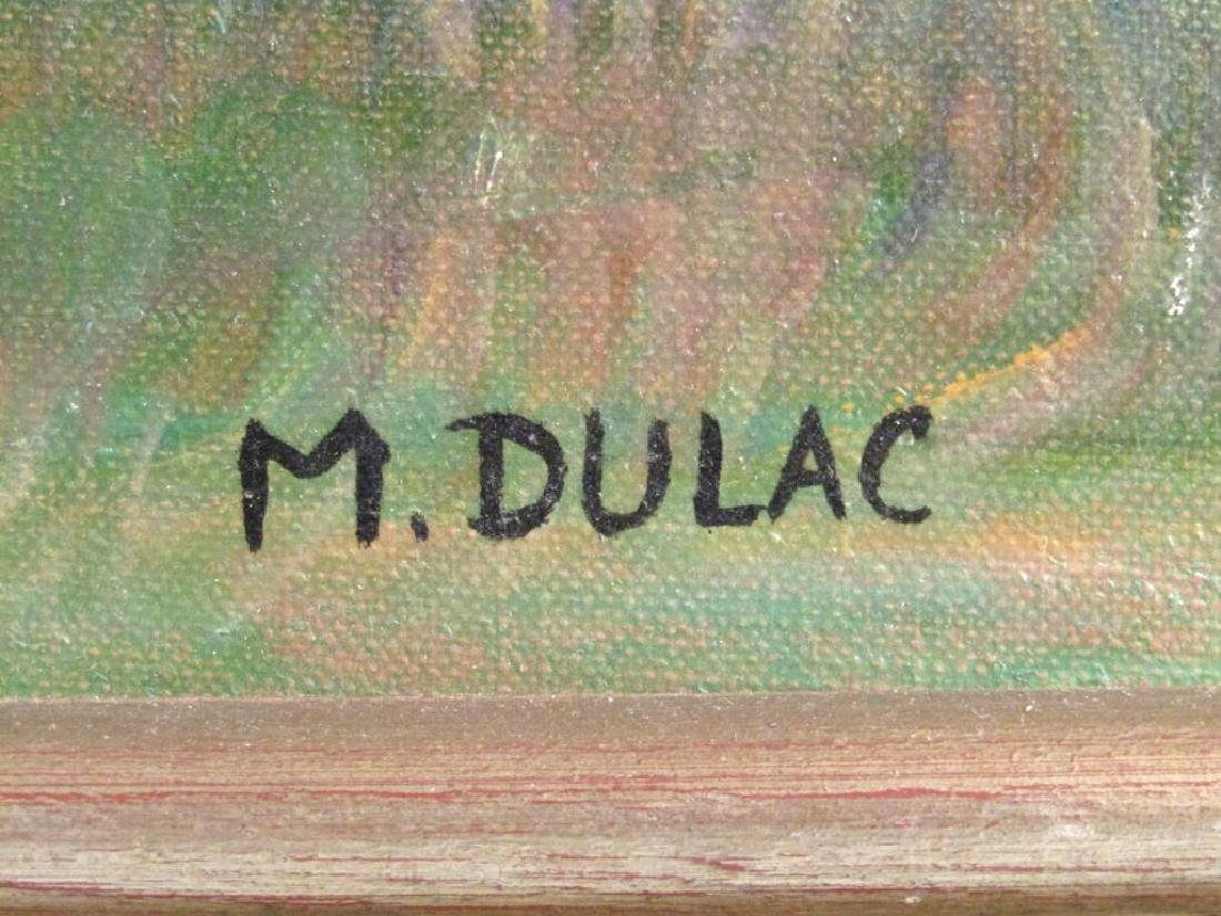 Signed M. Dulac - Oil on Artist Board - 5