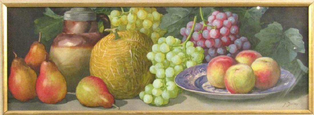 Arthur Dudley (British, 1890-1909) - Watercolor