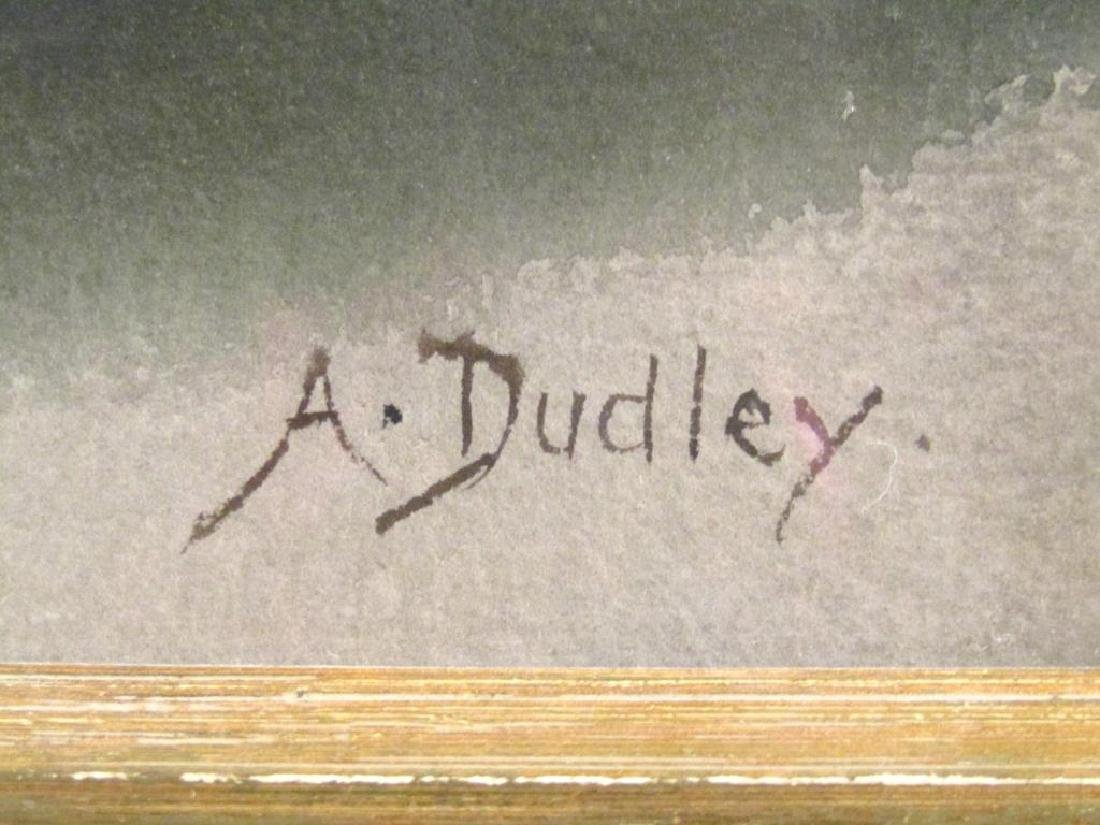 Arthur Dudley (British, 1890-1909) - Watercolor - 5