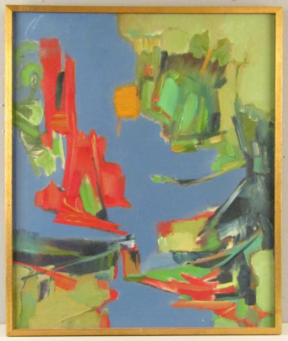Norman Shapiro - Oil on Canvas