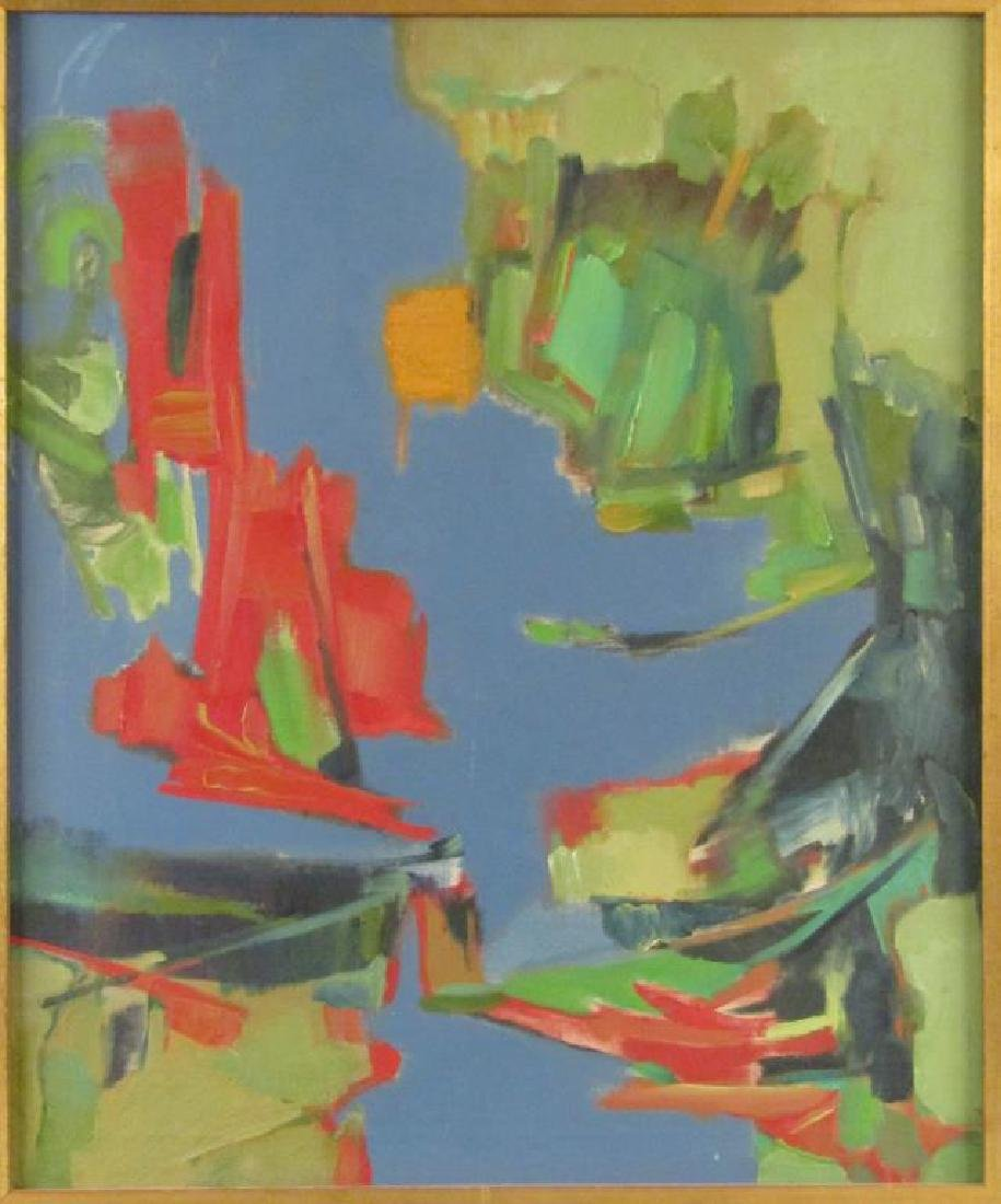 Norman Shapiro - Oil on Canvas - 2