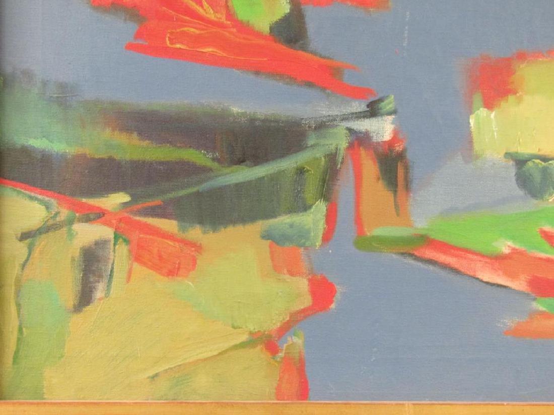Norman Shapiro - Oil on Canvas - 4