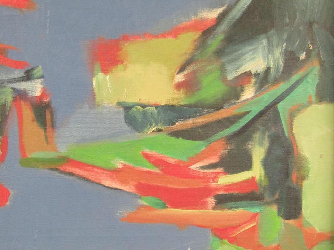 Norman Shapiro - Oil on Canvas - 5