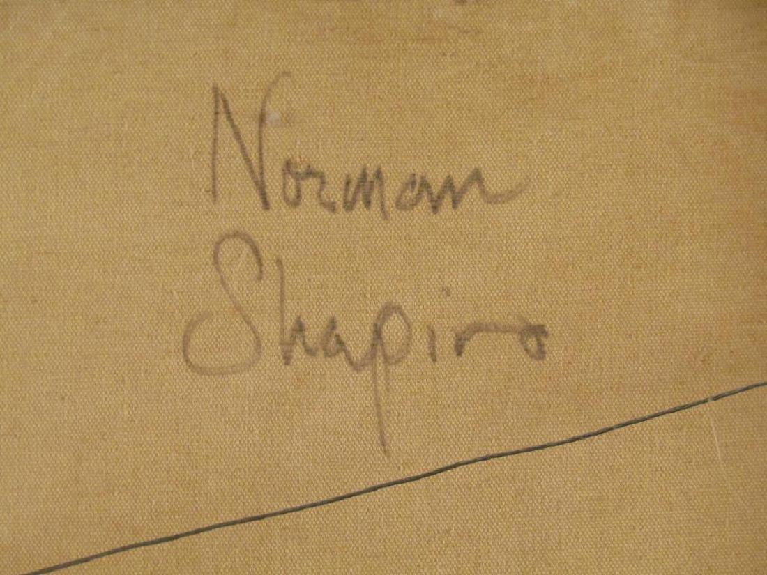 Norman Shapiro - Oil on Canvas - 7