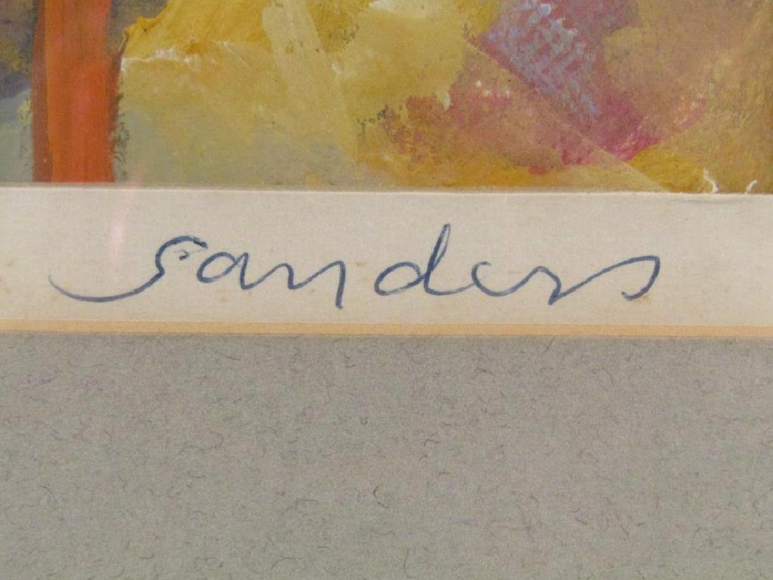 Signed Sanders - Mixed Media - 5