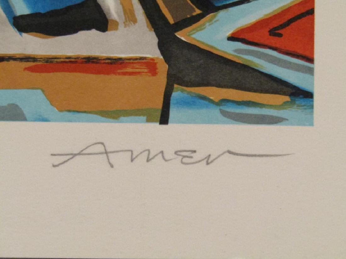 2 Irving Amen Lithographs - 5