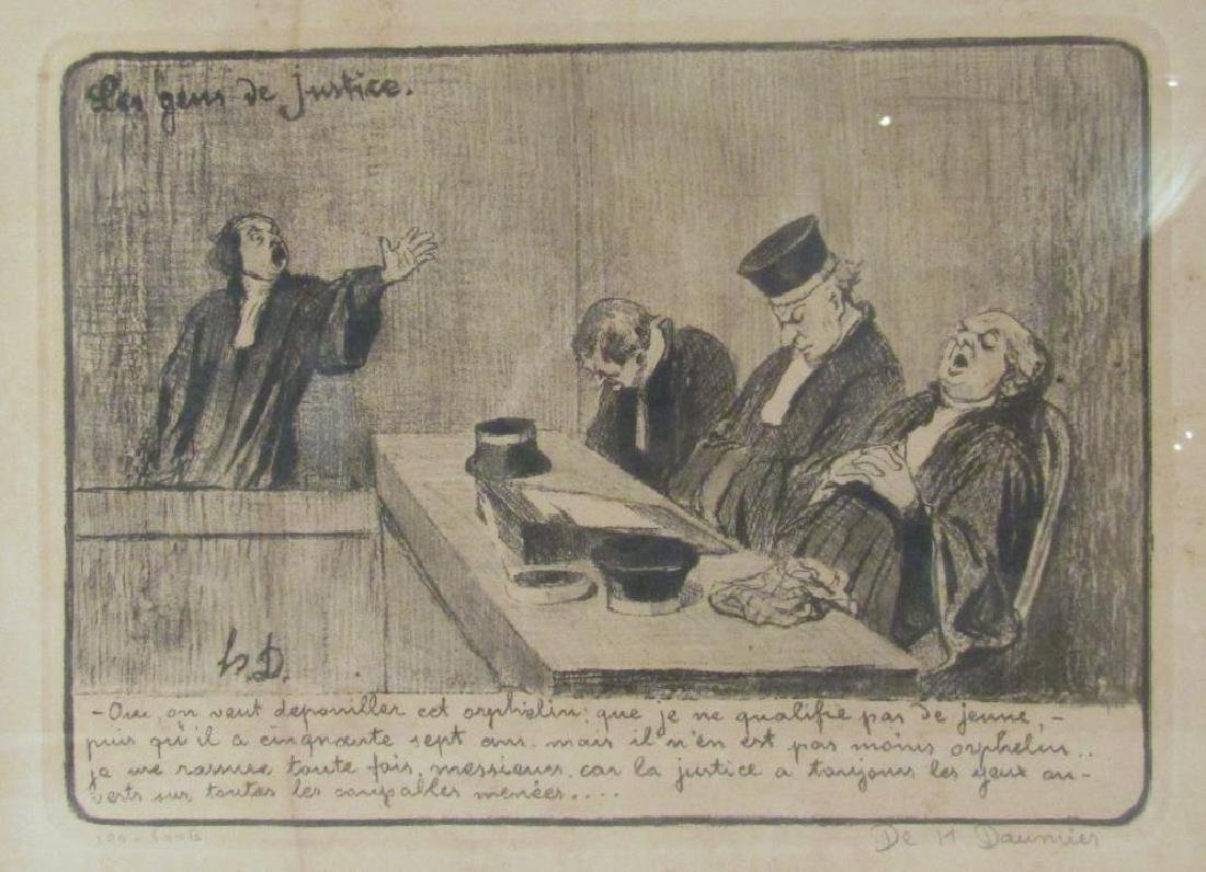 Honore Daumier - Lithograph