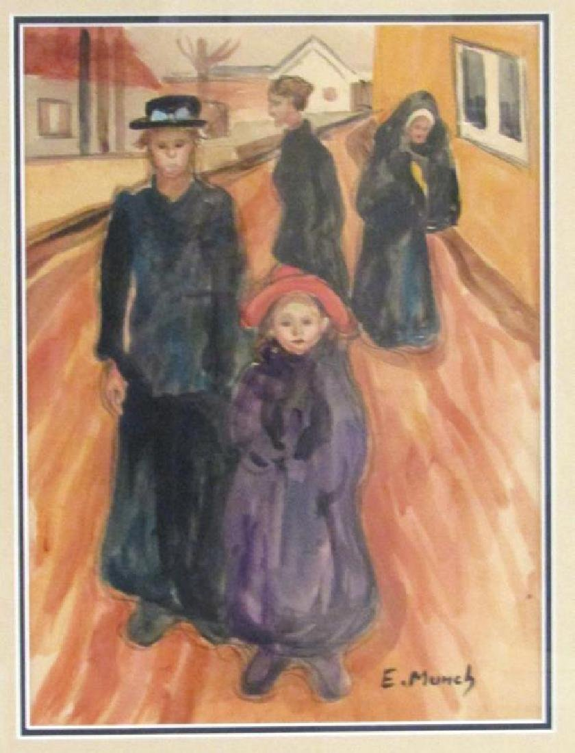 Edvard Munch Picture Print
