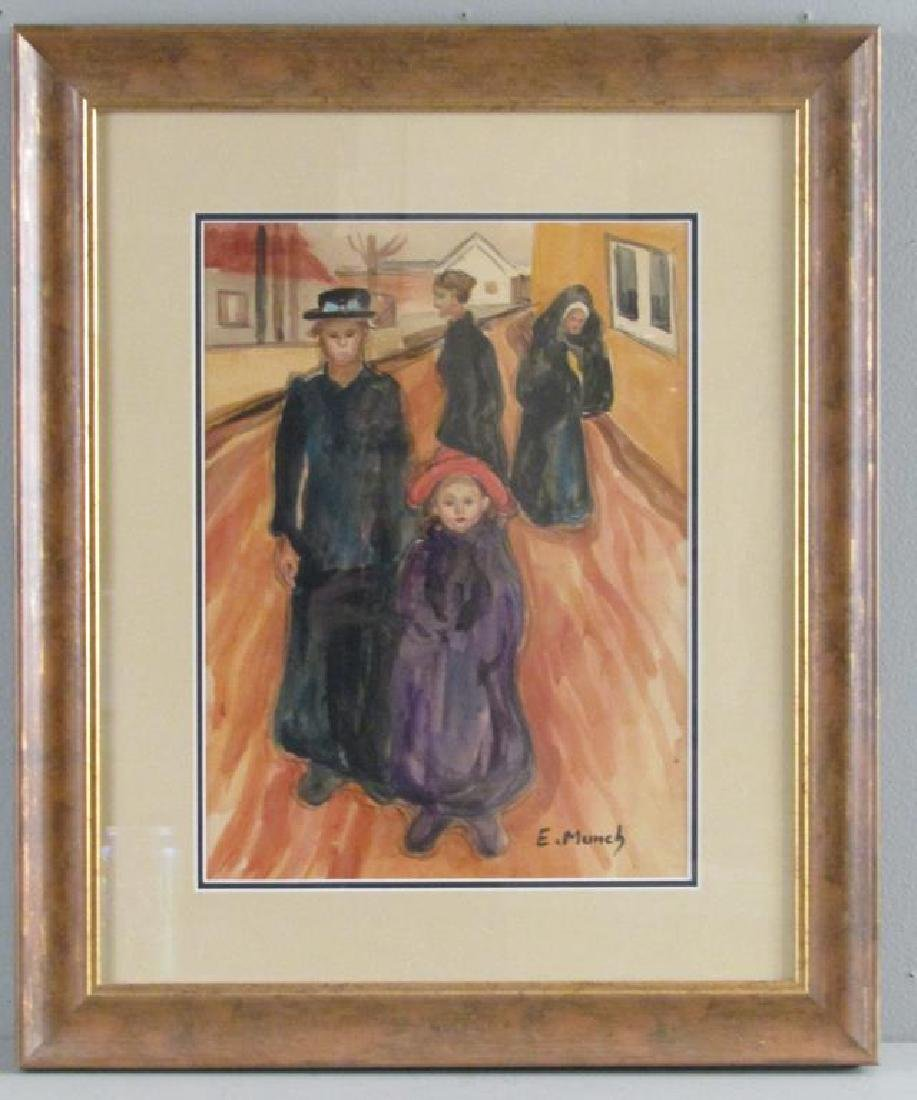 Edvard Munch Picture Print - 2