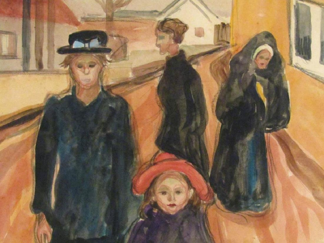 Edvard Munch Picture Print - 3