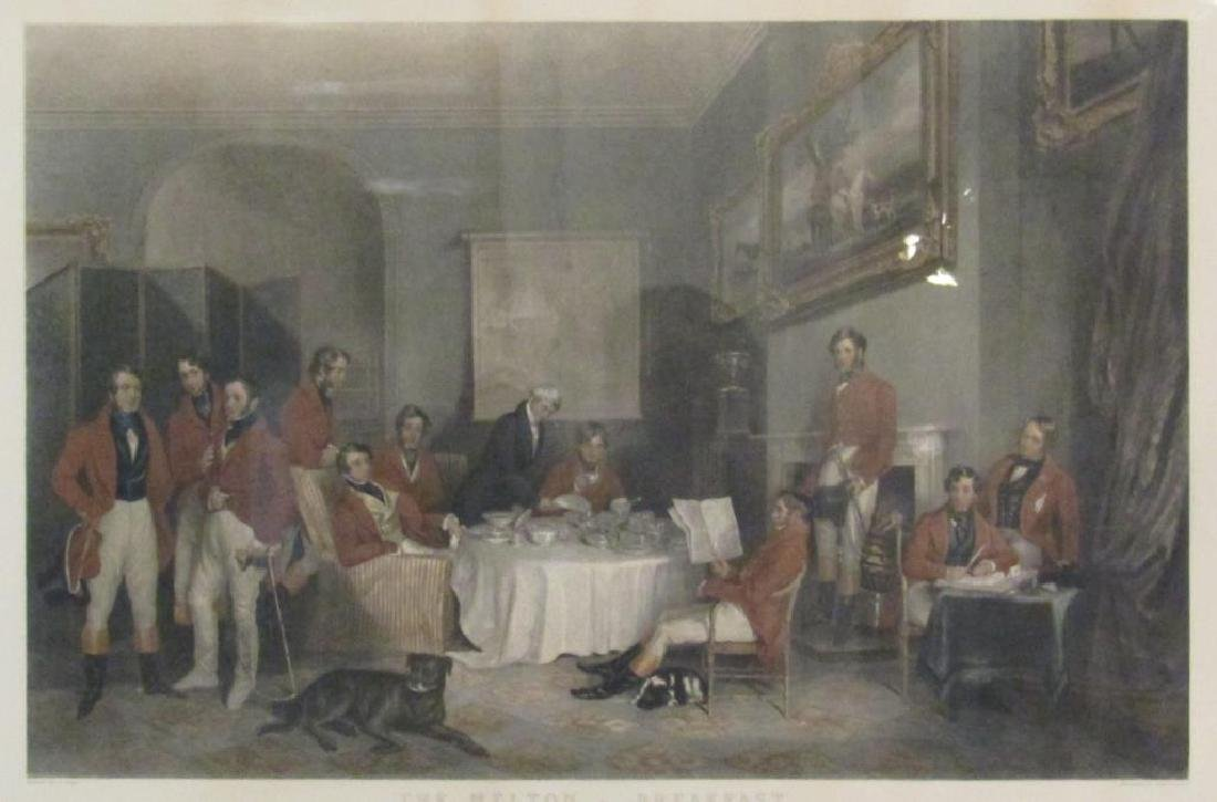 After Grant - Hand Colored Engraving
