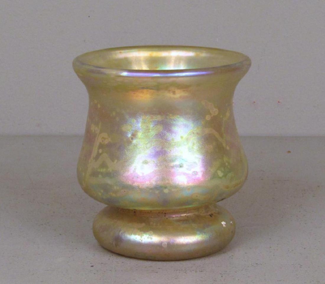 Richard Eickholt Iridescent Glass Vase