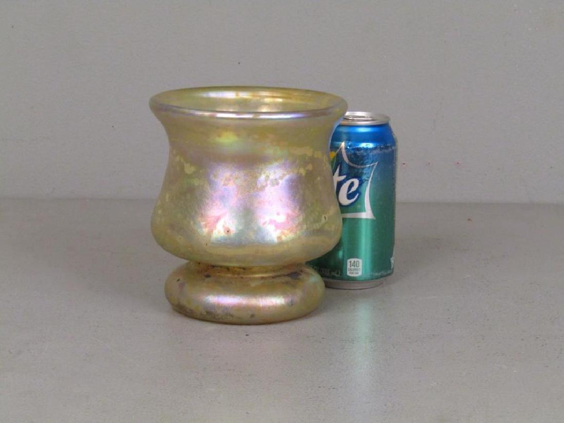 Richard Eickholt Iridescent Glass Vase - 2