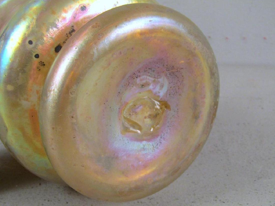 Richard Eickholt Iridescent Glass Vase - 5