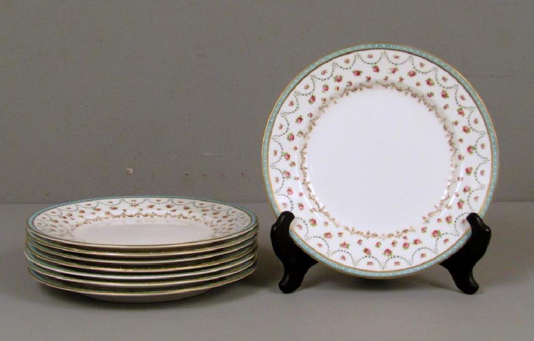 7 English Place Plates