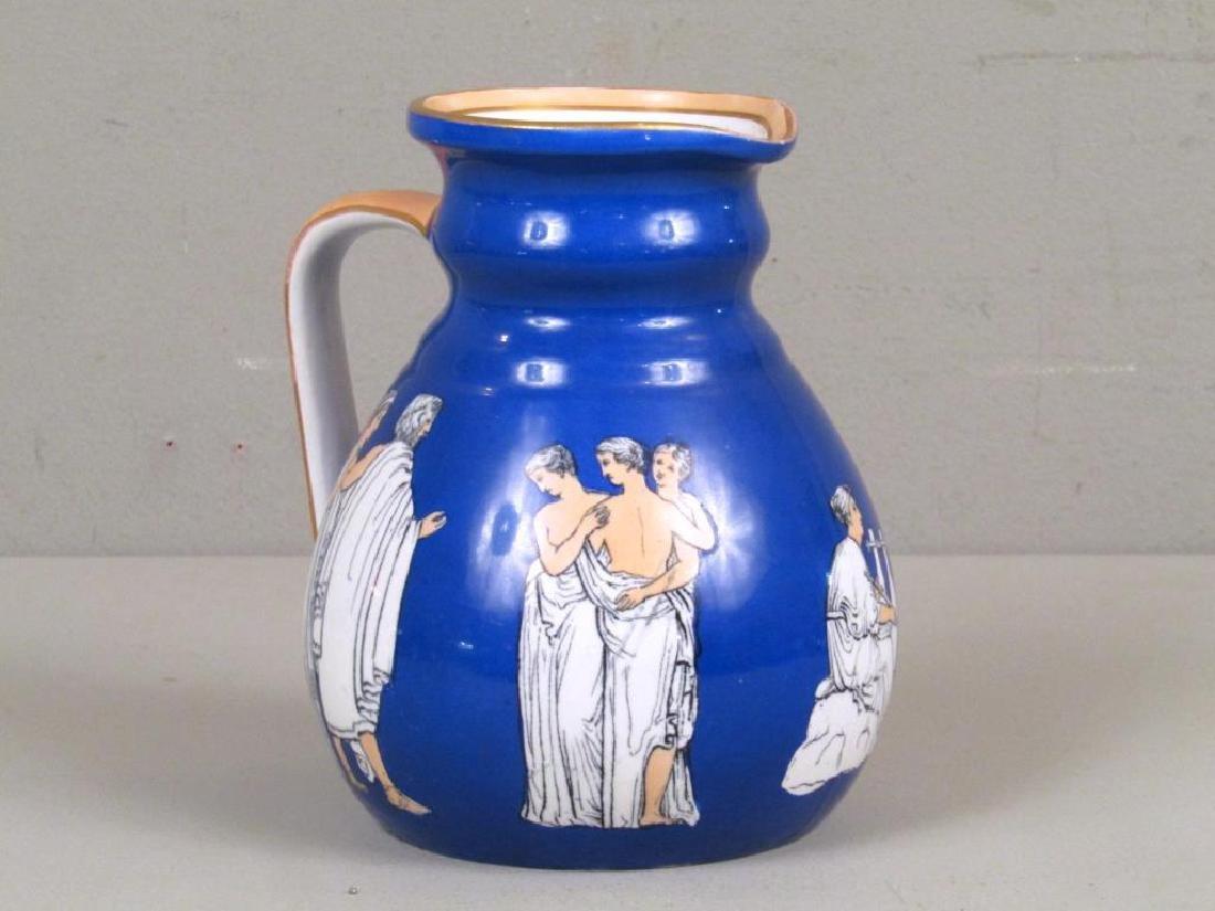 Staffordshire Ceramic Pitcher