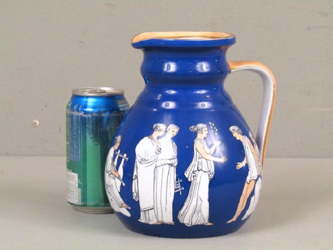 Staffordshire Ceramic Pitcher - 2