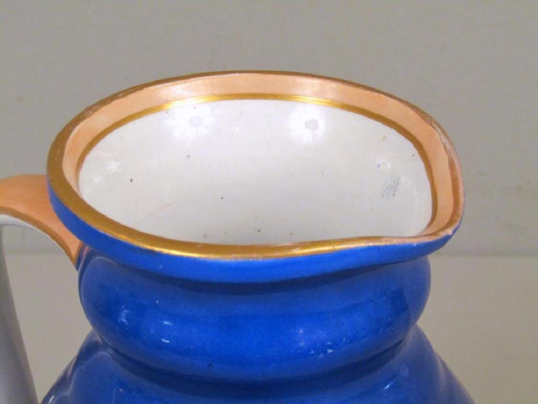 Staffordshire Ceramic Pitcher - 3