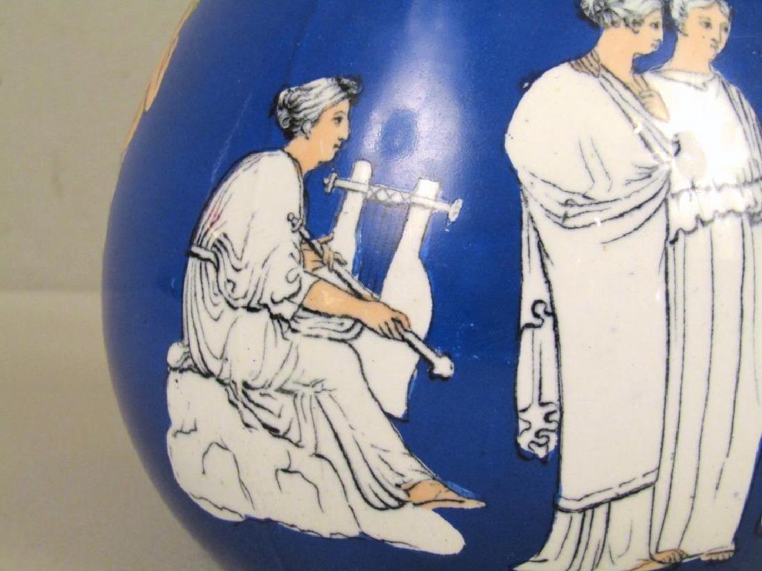Staffordshire Ceramic Pitcher - 4