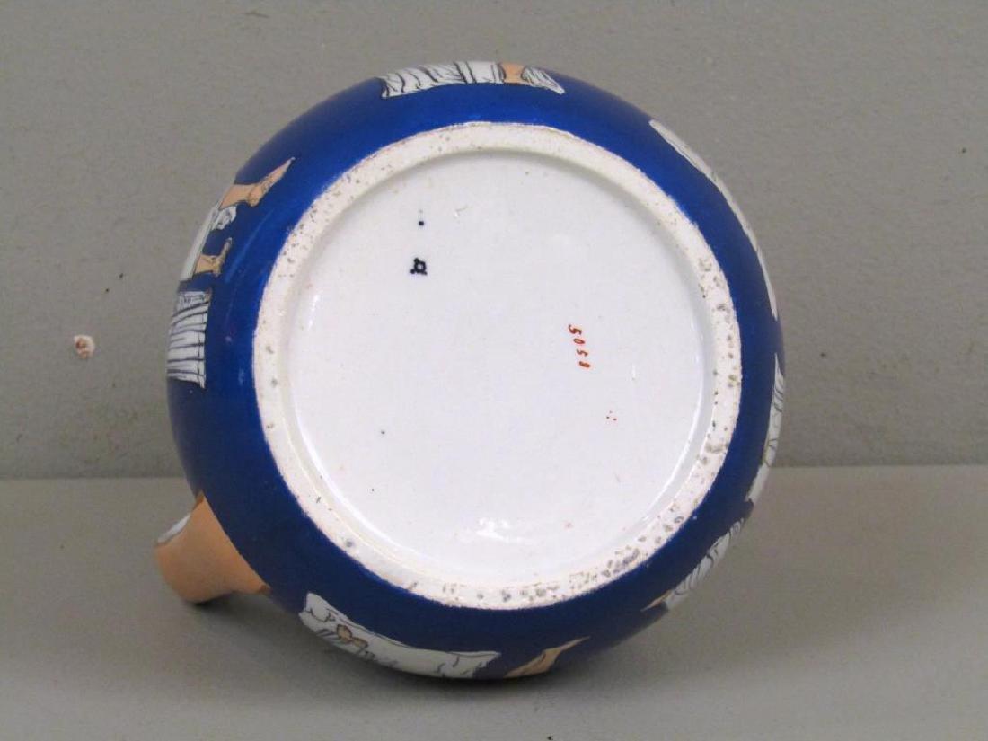 Staffordshire Ceramic Pitcher - 5