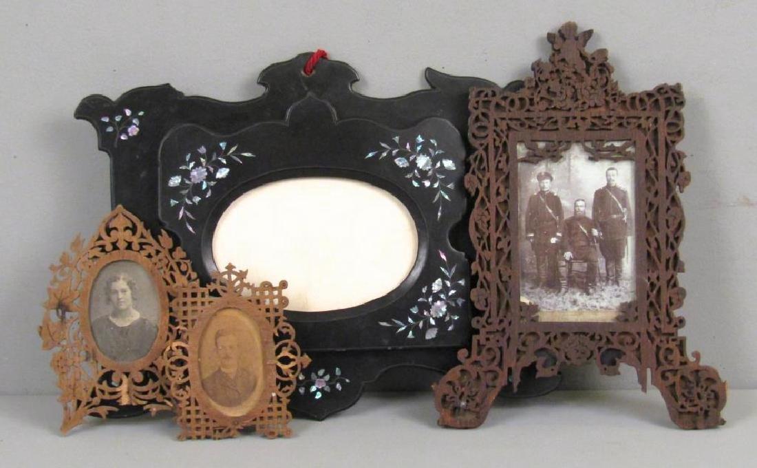 Four Antique Frames