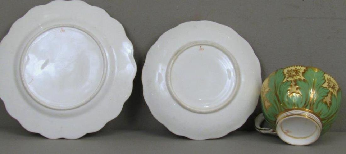 3 Porcelain Cups and Saucers (as is) - 8
