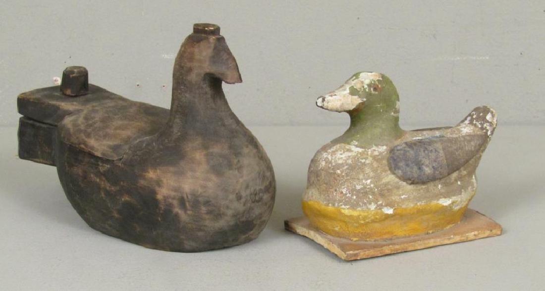 3 Russian Wood Duck Decoys - 5